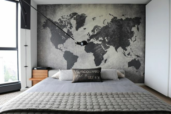 Awesome Wand Schlafzimmer Gestalten Images - House Design Ideas ...