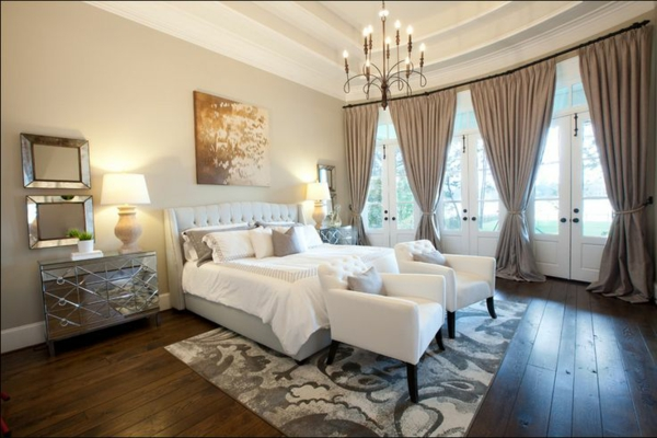 Schlafzimmergardinen Und Vorhänge - Den Privatraum Stilvoll Gestalten Schlafzimmer Vorhnge Ideen