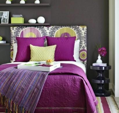 Wandfarbe graut ne im einklang mit der mode bleiben for Wandfarbe lila wirkung