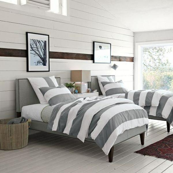 Schlafzimmer ideen modern grau  Schlafzimmer Farbideen