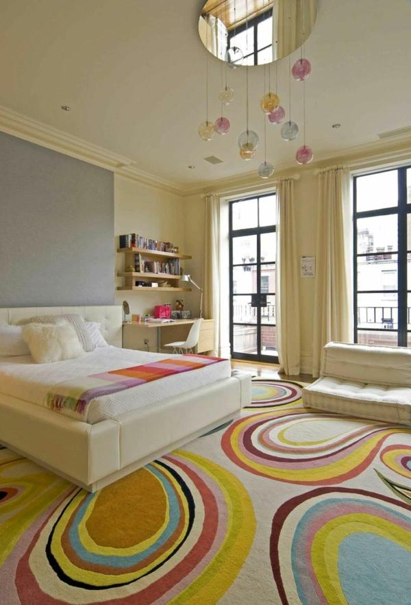 schlafzimmer ideen farbgestaltung sommerpalette bodenbelag