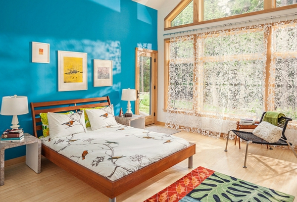 Romantisches Schlafzimmer In Blau – msglocal.info