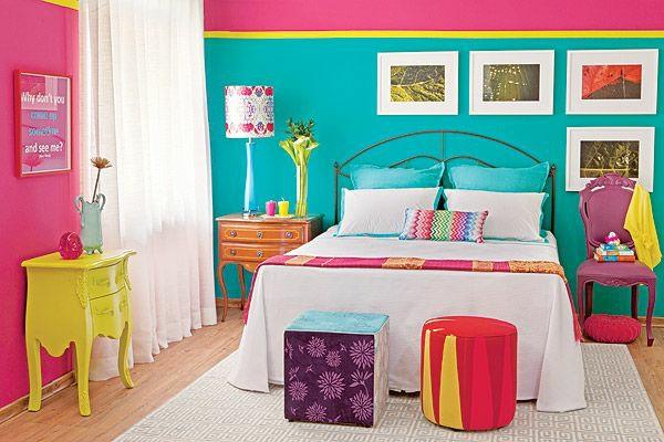 40 individuelle designentscheidungen - schlafzimmerwand gestalten - Farbige Wandgestaltung Beispiele
