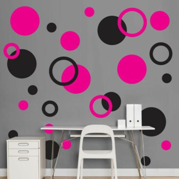 40 individuelle designentscheidungen - schlafzimmerwand gestalten - Schlafzimmer Wand Rosa