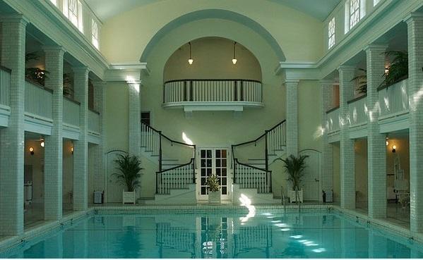 schwimmbecken innenbereich wohnideen großraum