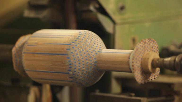 skandinavische möbel deko vasen aus holz amalgamated
