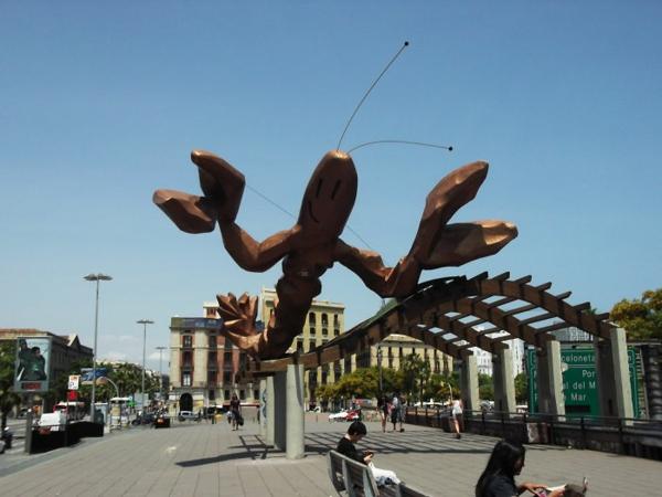 kunstwerke art projekte lobster statue
