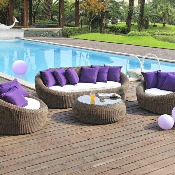 polyrattan und rattanm bel f r outdoor die kl gere. Black Bedroom Furniture Sets. Home Design Ideas