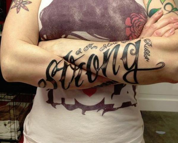 tattoo sprüche unterarm bilder