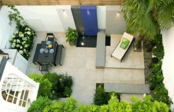 terrassengestaltung beispiele gartenmöbel essbereich gestalten entspannungsecke pflanzen