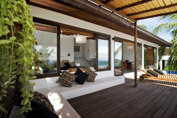 Terrassengestaltung beispiele 40 inspirierende ideen - Terrazzo coperto ...