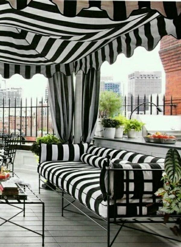 terrassengestaltung bilder lounge möbel pergola sofa