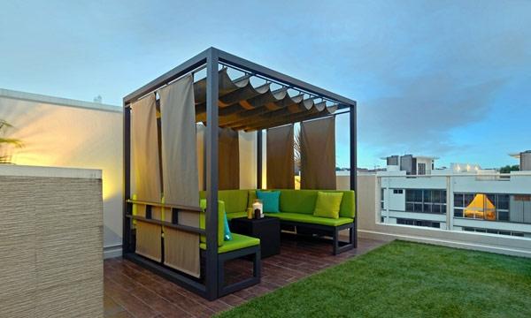 terrassengestaltung ideen bilder beispiele gartenmöbel gartenpergola