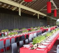 Tischdecke Rot Kreieren Sie Eine Festliche Und Originelle Tischdeko
