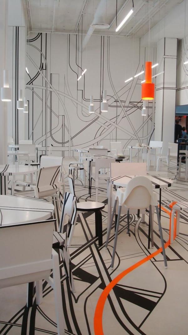 bar restaurant designideen einrichtung logomo cafe finnland