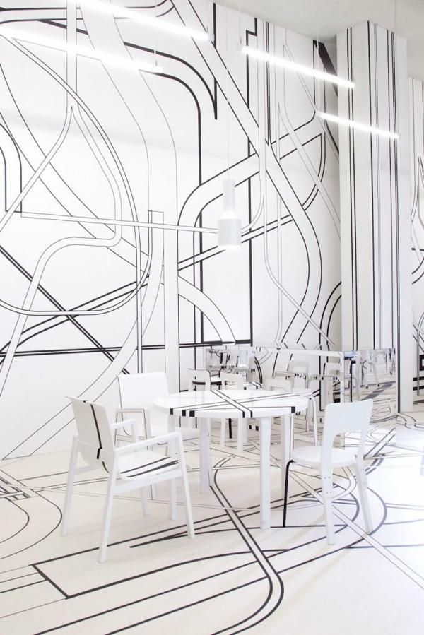 bar restaurant design ideen logomo cafe finnland