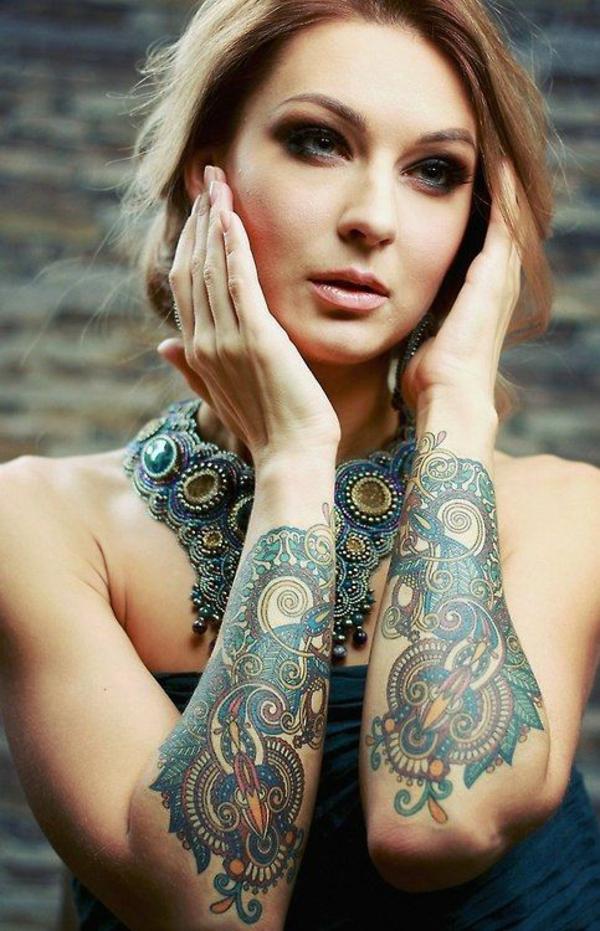 tolle ideen tattoo unterarm frau trends