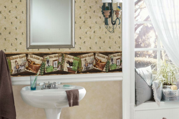 Feuchtraumtapete Fürs Bad U2013 Verschönern Sie Ihr Badezimmer Auf Eine  Elegante Weise!