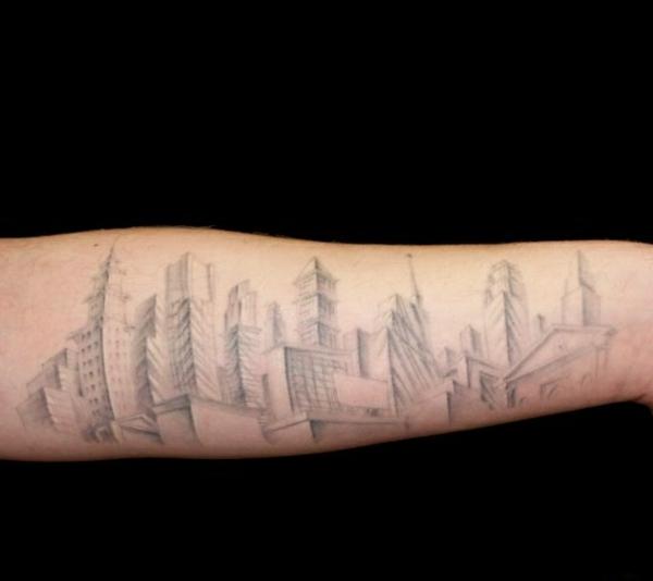 sketch tattoo unterarm bilder