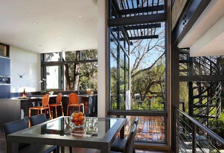 umweltfreundliche architektur residenz wohnbereich essbereich küche