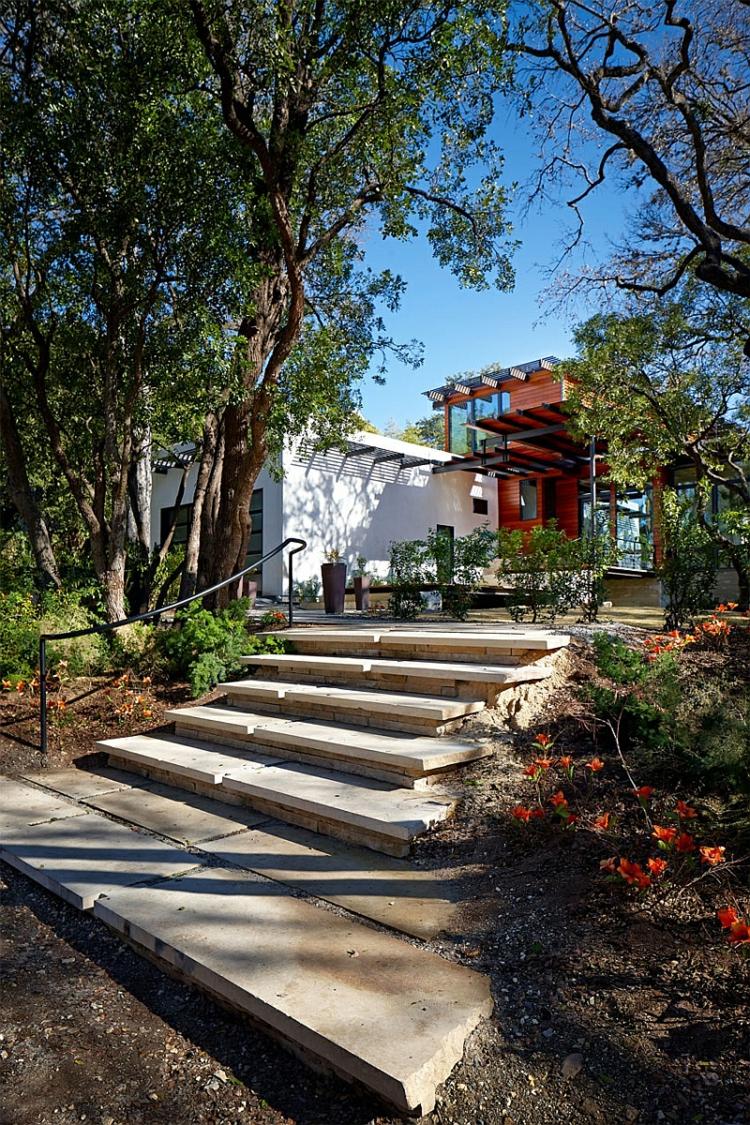 umweltfreundliche architektur und design green latern residenz texas