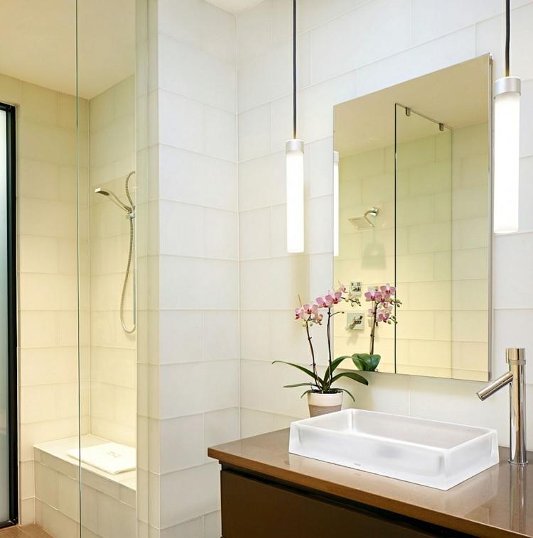 umweltfreundliches innendesign residenz wohnbereich moderne badezimmer fliesen