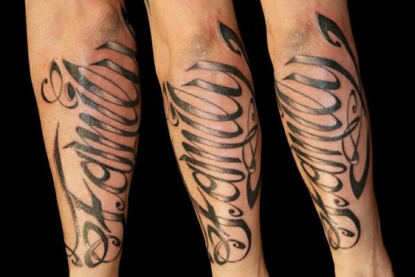 unterarm tattoo sprüche familie