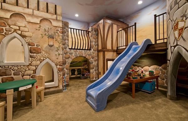 Kinderzimmer gestalten  Kinderzimmer gestalten - Ideen für das Untergeschoss