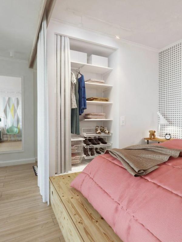Vorhang Als Raumtrenner Verwenden - Kluge Wohnideen Raumtrenner Ideen Schlafzimmer