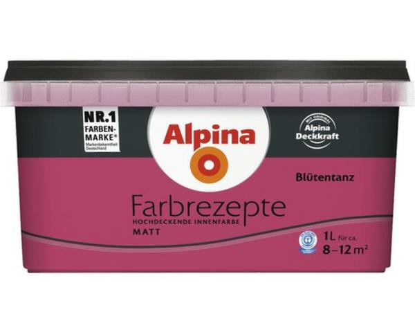 wandfarbe beere trendfarbe alpina farbrezepte blütentanz