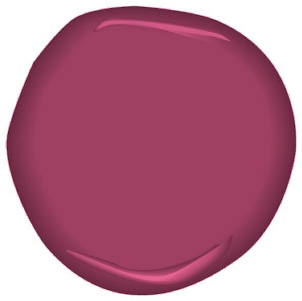 wandfarbe beere trendfarbe benjamin moore berry fizz csp-440
