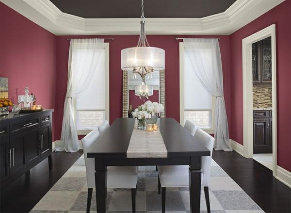 Wandfarbe Beere - trendy Farbtöne für eine moderne ...