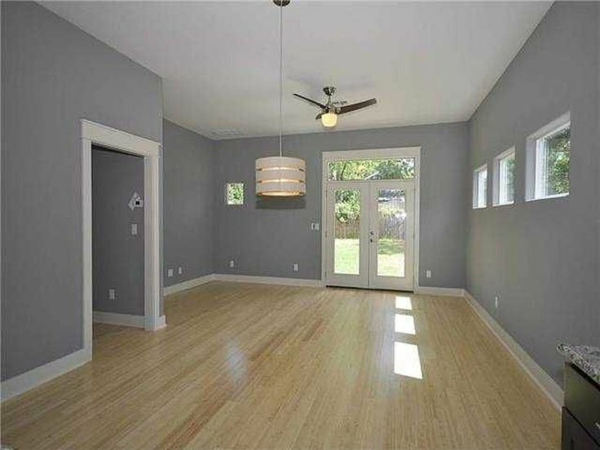 wandfarbe grautöne wohnzimmer design modern pendelleuchten