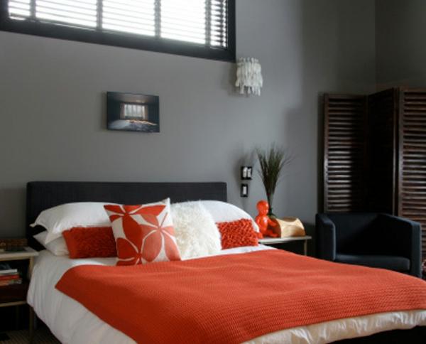 wandfarben ideen schlafzimmer grau farbtöne
