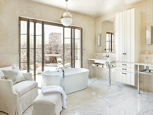 waschbecken badezimmer hell hängelampen Lampen und Leuchten