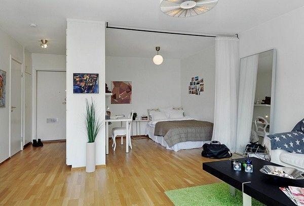 Einraumwohnung einrichten operieren sie clever mit ihrem for One room apartment interior design