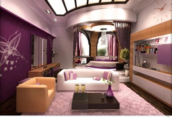 wohnideen schlafzimmer wohnzimmer villaweb wohnzimmer - Wohnzimmer Mit Schlafzimmer