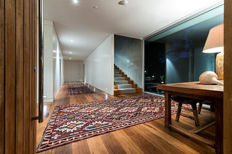 wohntrends wohnideen moderne inneneinrichtung läufer farblich gemustert