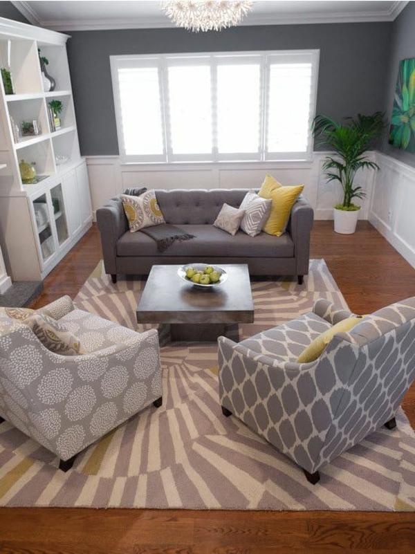 wohnzimmer grau gelb:wohnzimmer inspiration grau : Wohnzimmer Gelb Grau Wohnzimmer