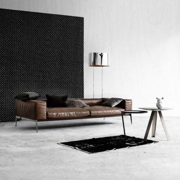 wohnzimmer altes ledersofa färben leder couch farblich auffrischen