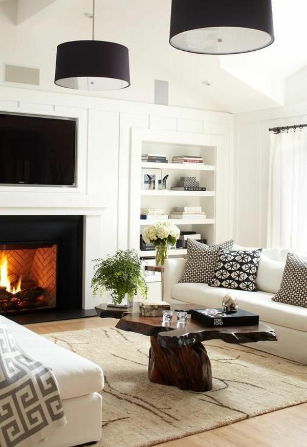 auffallende wohnzimmer beleuchtungsideen f r ihr zuhause. Black Bedroom Furniture Sets. Home Design Ideas