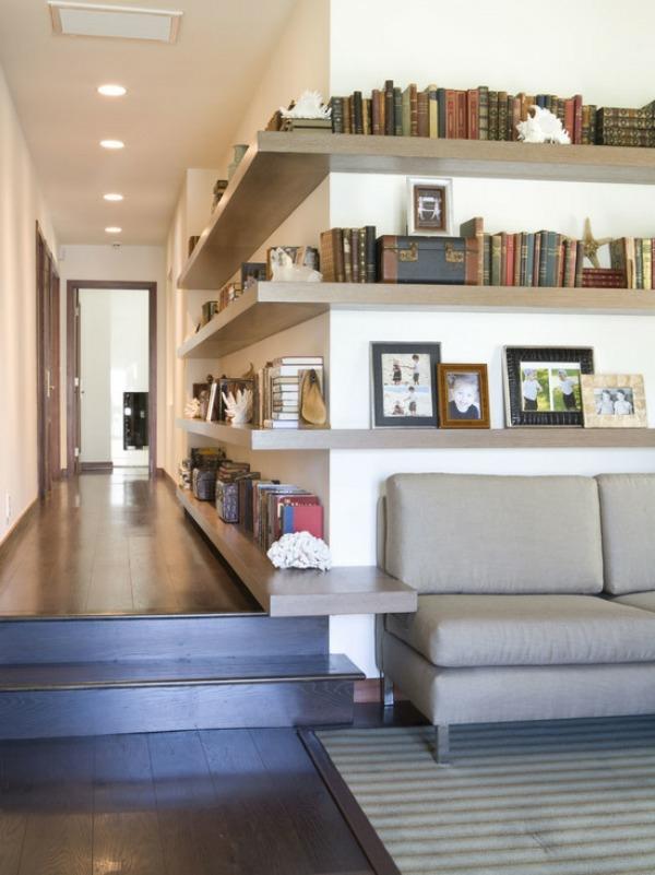 wohnzimmer regal design:wohnzimmer regal holz : raumteiler regal metall holz einfaches design  ~ wohnzimmer regal design