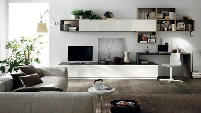 Wohnzimmer einrichtungsideen im minimalistischen stil Einrichtungsideen wohnzimmer