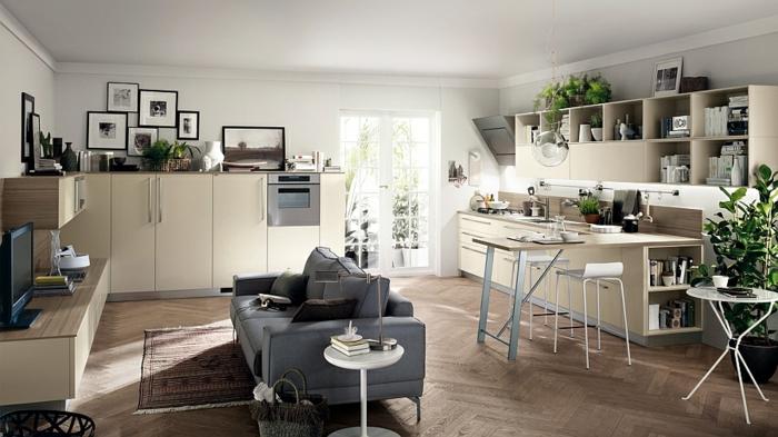 Wohnzimmer Einrichtungsideen Minimalistisch Neutrale Farbgestaltung