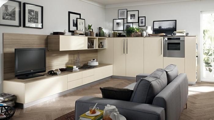 wohnzimmer einrichtungsideen im minimalistischen stil, Hause deko