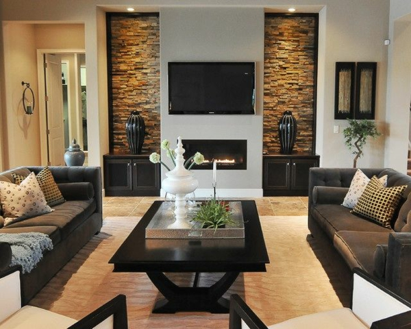 50 wohnungsgestaltung ideen fr ein modernes und gemtliches zuhause - Gestaltung Wohnzimmerwand
