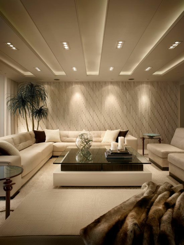 Wohnzimmer Decken ? Abomaheber.info Moderne Wohnzimmer Decken