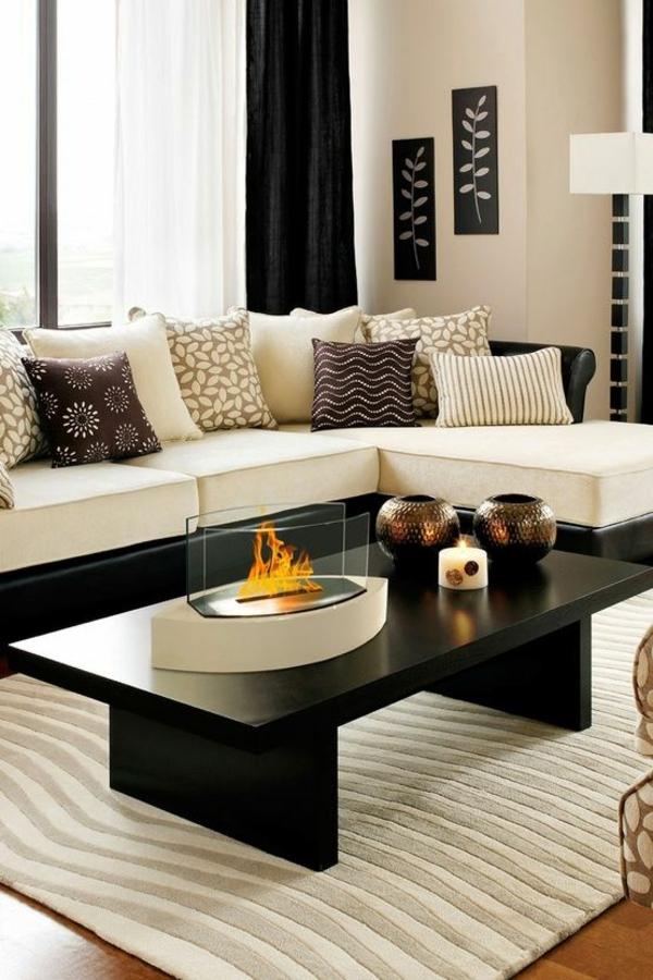 wohnzimmer ideen wohnideen accessoires tischdeko teppich