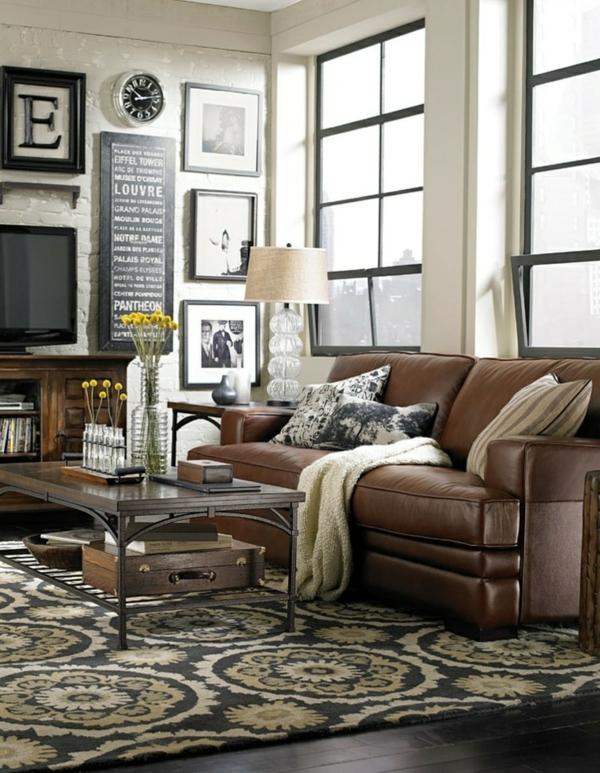 wohnzimmer sofa ledersofa färben lederpflege