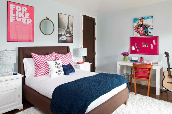 jugendzimmer mädchen - einrichtungsideen für wachsende mädels, Schlafzimmer design